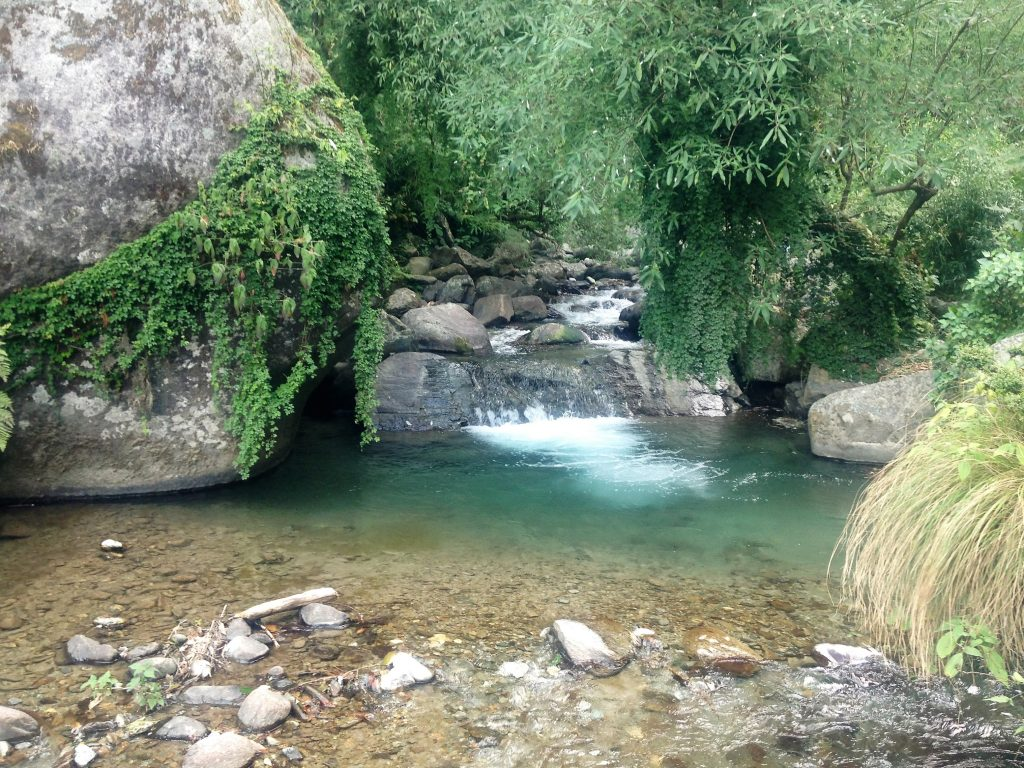 Bir, Himachal Pradesh, waterfall, India
