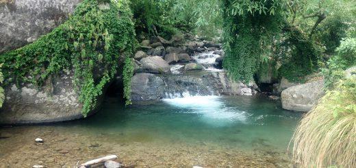 Bir, Himachal Pradesh, waterfall, India