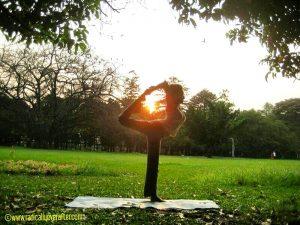 Yoga, Lalbagh, Natarajasana