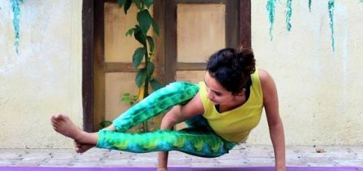 Eight angle pose, Arm balance, Balancing pose, radically ever after