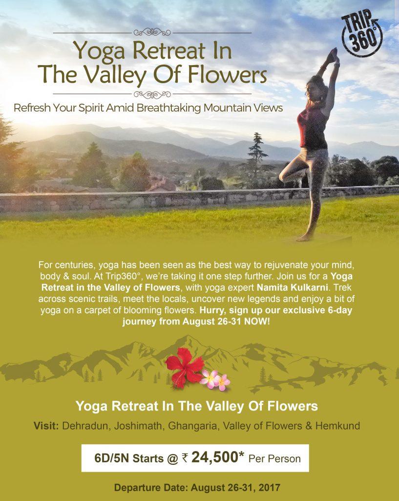 Valley of Flowers Yoga Trek