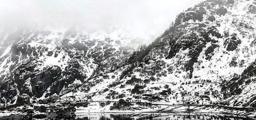 Tsomgo lake, East Sikkim, Sikkim , North east India