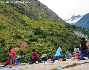 Yoga Retreat, Valley of Flowers, Himalayas