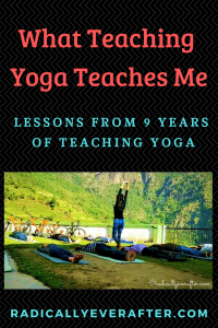 Yoga Teacher Lessons