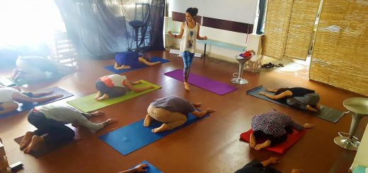 Namita Kulkarni Teaching Yoga