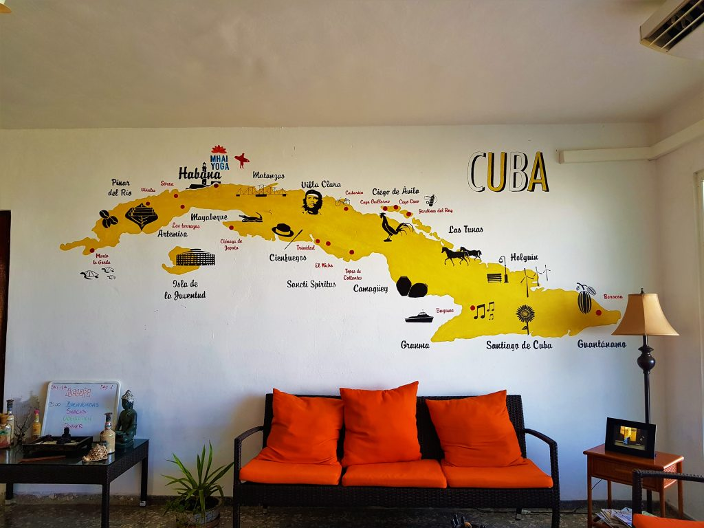 Havana, Cuba, Cuba Yoga, Cuba Map