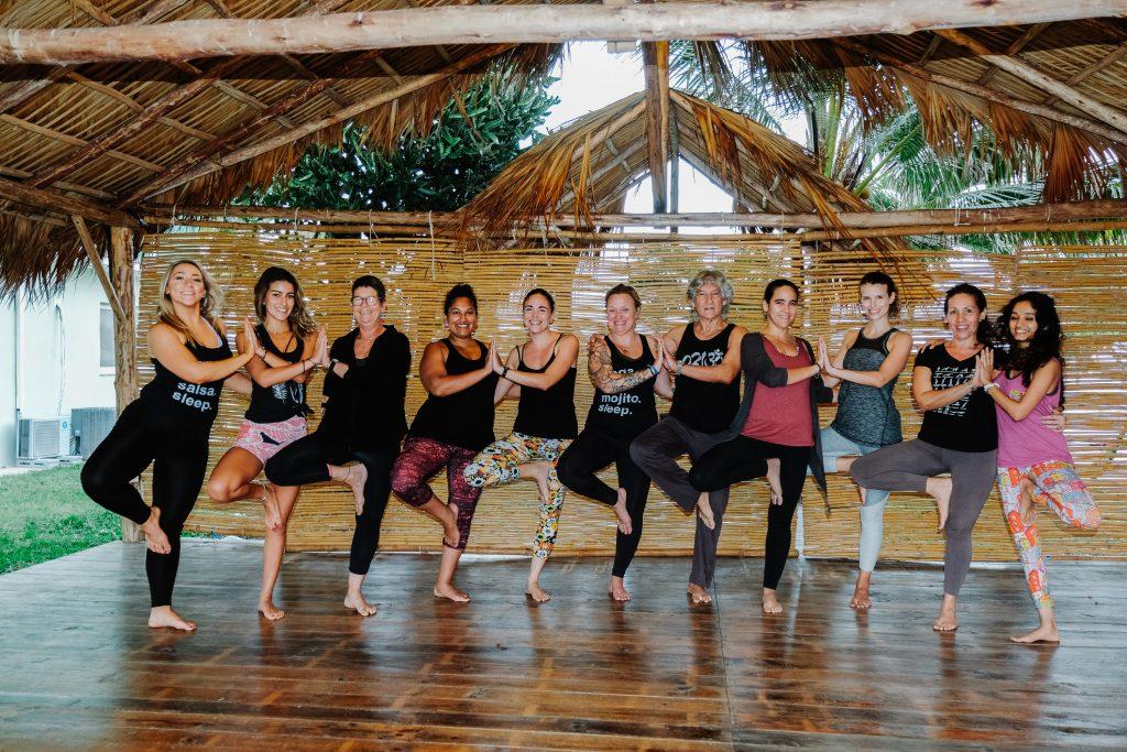Yoga in Havana, Cuba