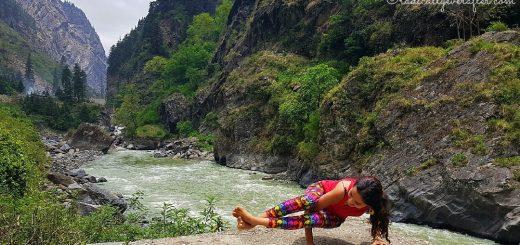 Eight Angle Pose, Gangotri, Yamunotri, Chardham Yatra