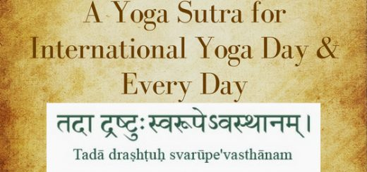 Yoga Sutra Chapter 1, Verse 3