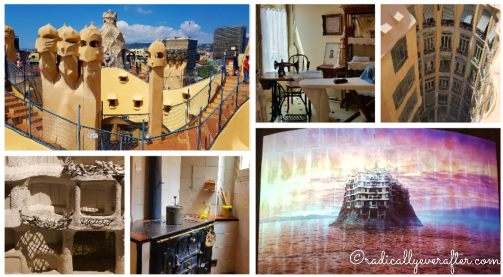 Barcelona Things To Do, Casa Mila, Barcelona, Spain