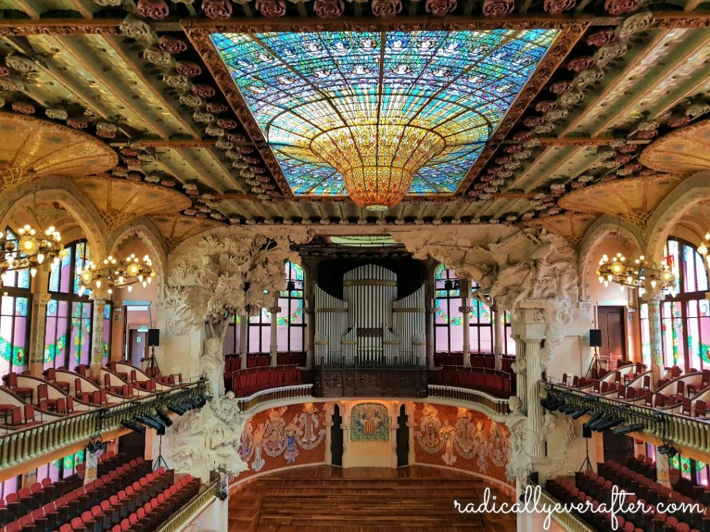 Palau de la Musica, Barcelona, Spain, Things to Do in Barcelona