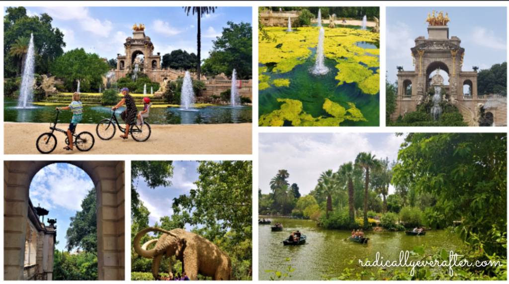 Parque de la Ciutadella, Barcelona, Spain, Things to do