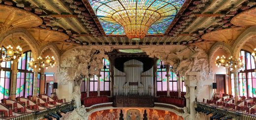 Barcelona Things to Do, Spain. Palau de la Musica