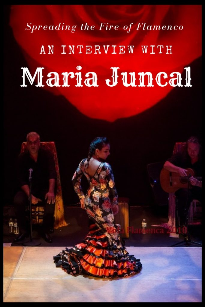 Flamenco Andalusia, Maria Juncal interview, Madrid
