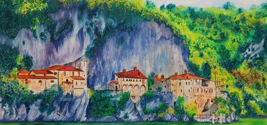 Italy, Lake Maggiore, Ispra, North Italy, Italy art