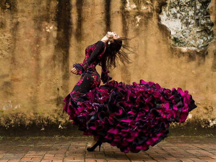 Spain, flamenco, Maria Juncal, dancer