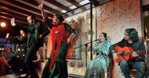 Flamenco in Sacromonte, Granada, Albayzin, Andalusia