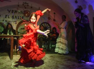 Flamenco in Sacromonte, Granada. Andalusia