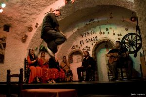 Flamenco in Sacromonte, Granada, Spain