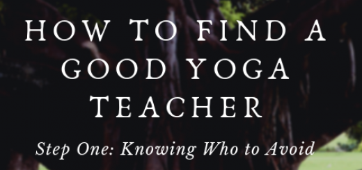 Yoga teacher, yoga